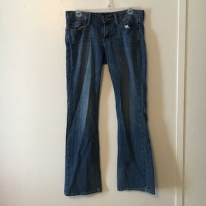 Lucky Brand Straight Leg Mid Wash Jeans | Size 27